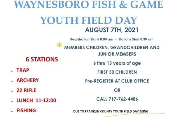 Youth Field Day Flyer 8-7-21